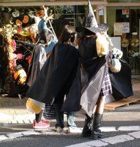 ハロウィンの子供のコスプレ仮装