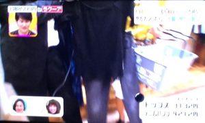 岡田結実3色ショッピング黒