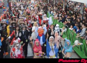 川崎ハロウィンパレード写真