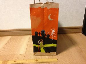 カルディハロウィン紙袋