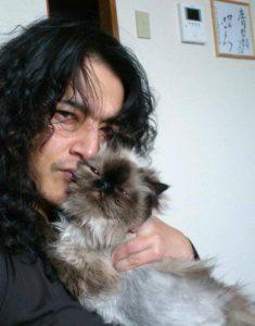 庄司哲郎と猫