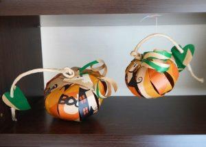 ハロウィン紙袋でかぼちゃ