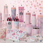 スタバ桜(さくら)2019のタンブラーやカード、オンライン限定など人気商品は?