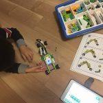 レゴwedo2.0 for homeを3週間体験した感想!5歳から遊びながらプログラミング学習