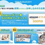 朝日小学生新聞キャンペーン2020-2021!夏休み特別キャンペーンも狙い目